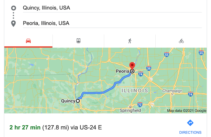 Google maps: Will it fly in Peoria?