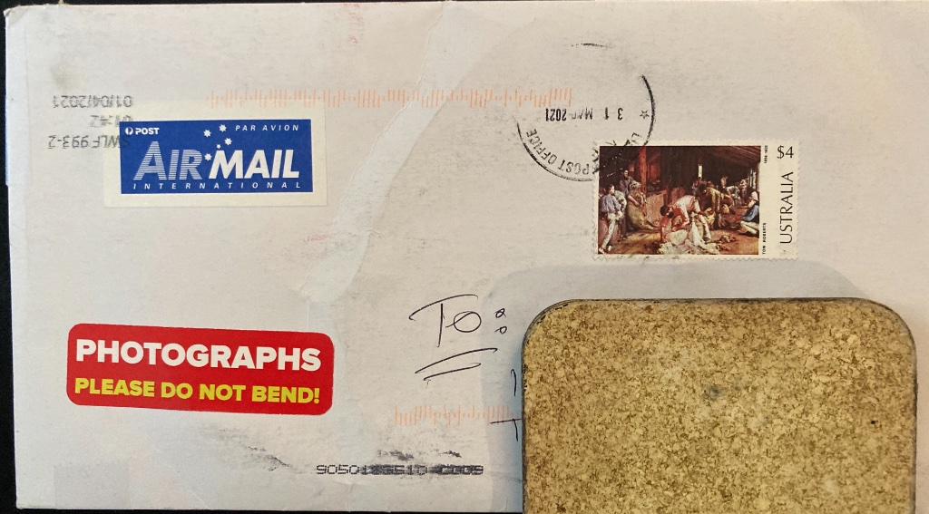 $4 1974 Australia Tom Roberts painting postage stamp on cover