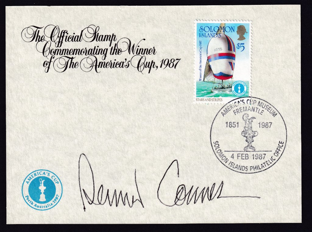 Solomon Islands fdc 1987 - Americas Cup 3.jpg