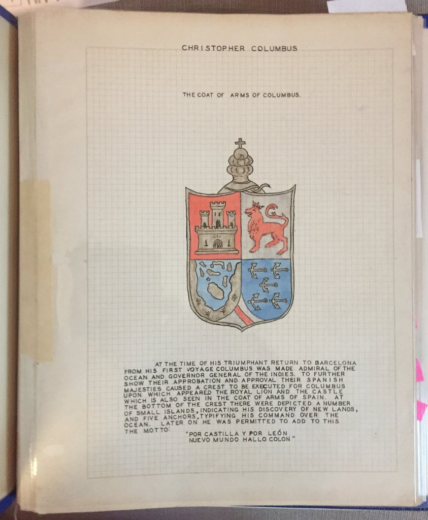 Columbus Coat Of Arms (Cover Page)