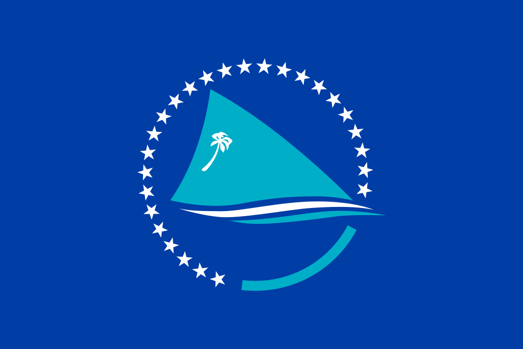 Formerly the South Pacific Commission now called Pacific Community.Current flag.