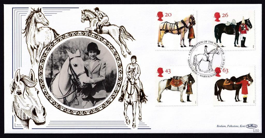 GB fdc 1997 - A Queens Horses 1.jpg