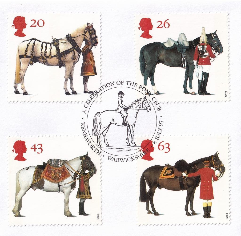 GB fdc 1997 - A Queens Horses 2.jpg