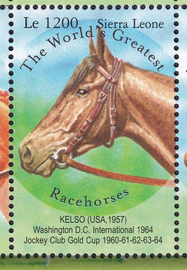 Kelso stamp issued by Sierra Leone 27th February 2001