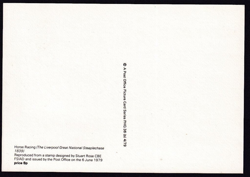 Reverse of PHQ card