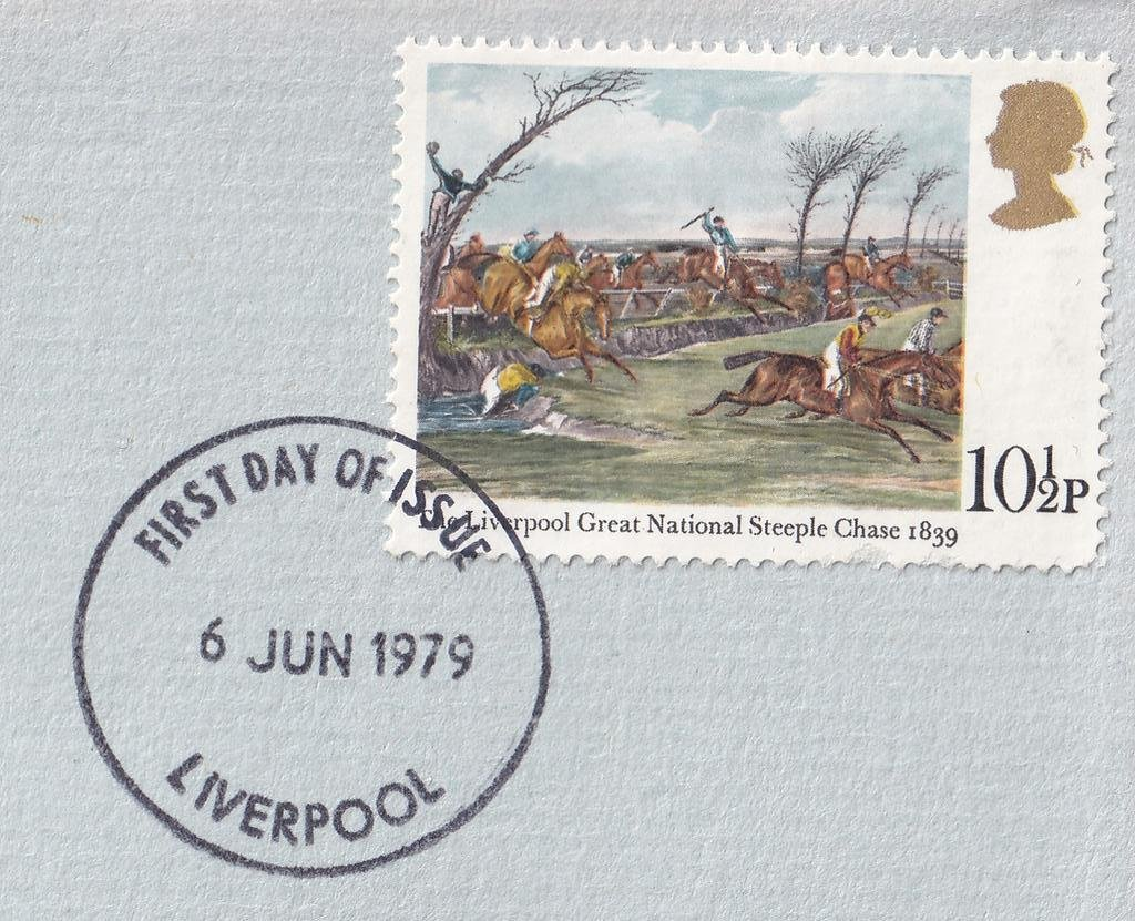 10½p single stamp fdc - Limited Edition number 1982 of 4000