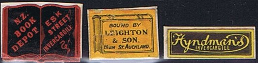 Book labels New Zealand