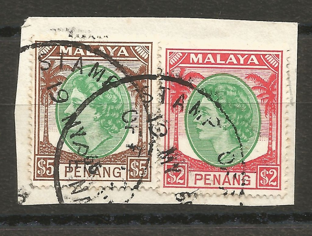 Malaya: Penang QEII on piece