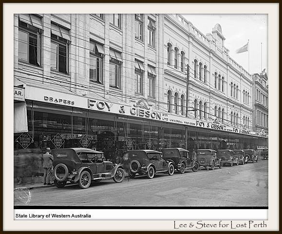 Foy and Gibson Perth Department Store