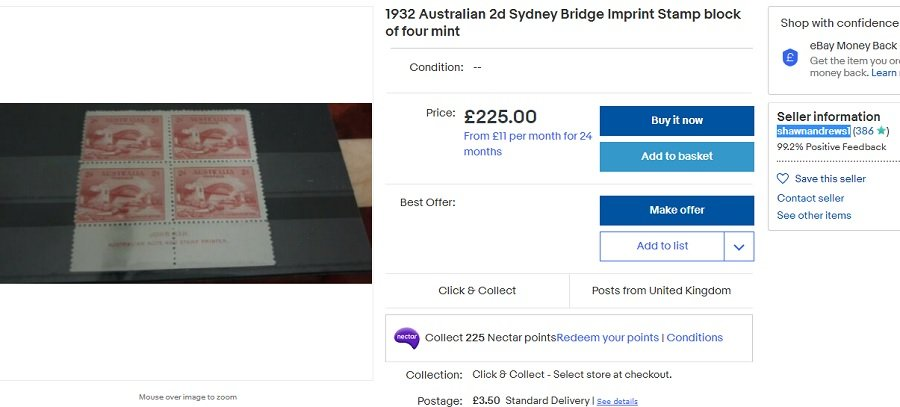 Overpriced 2d Bridge imprint block