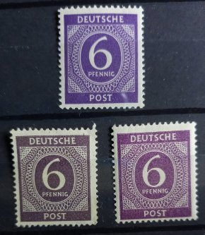 6 Pfennig Local Issue