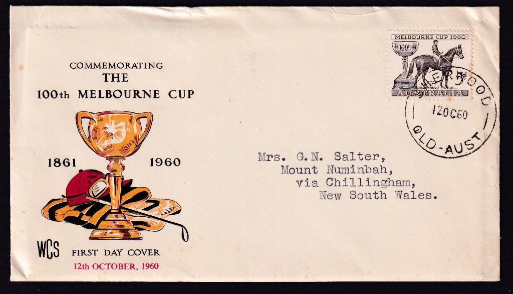 Aust fdc 1960 - Melbourne Cup Sherwood 2.jpg