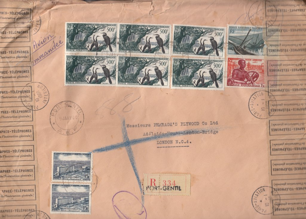 French Equatorial Africa African Darters cover