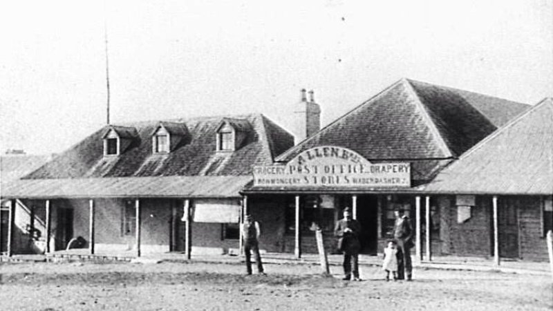 Shellharbour General Store & Post Office. c1910. Post Office location 1874-1949.