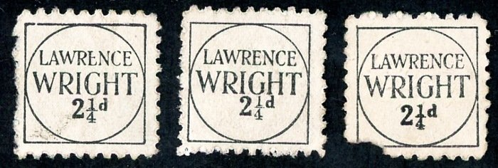 Lawrence Wright  2 1⁄4d stamp