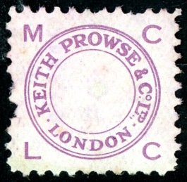 Keith Prowse stamp ()