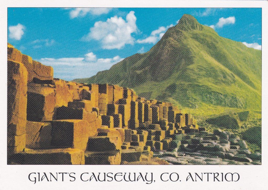 Card from Giant's Causeway Co. Antrim