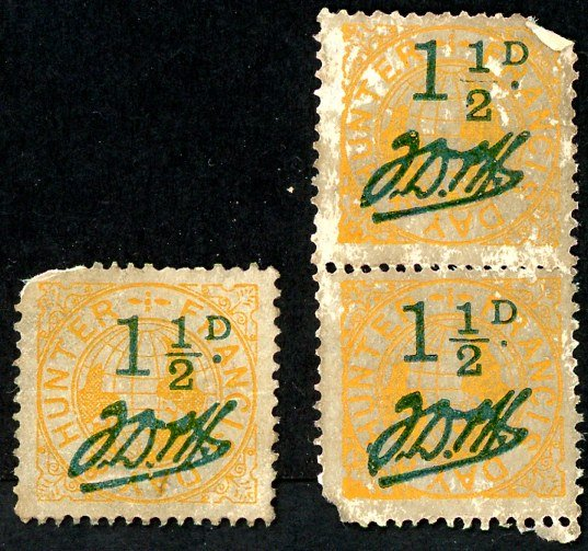 Francis, Day and Hunter stamps Set 030 A 1 ½d