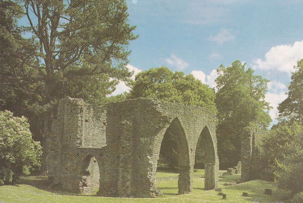 Card from Northern Ireland The ruined 13th century Armagh Friary.