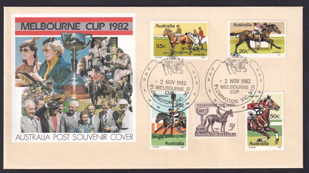 Aust fdc 1982 - Melbourne Cup 6.jpg