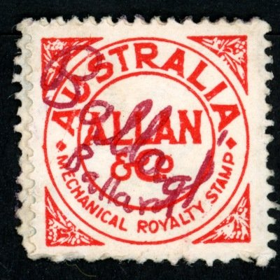 Allan & Co. stamp unidentified