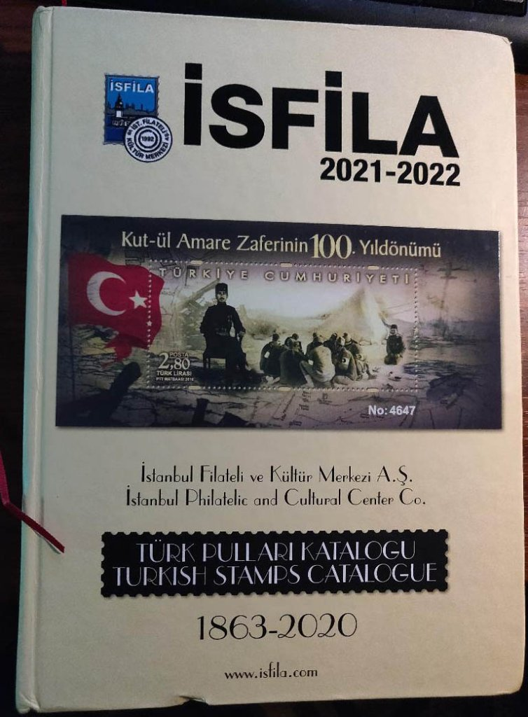 İsfila Ottoman Empire and Turkey Specialized Catalog, 2021-2022 edition