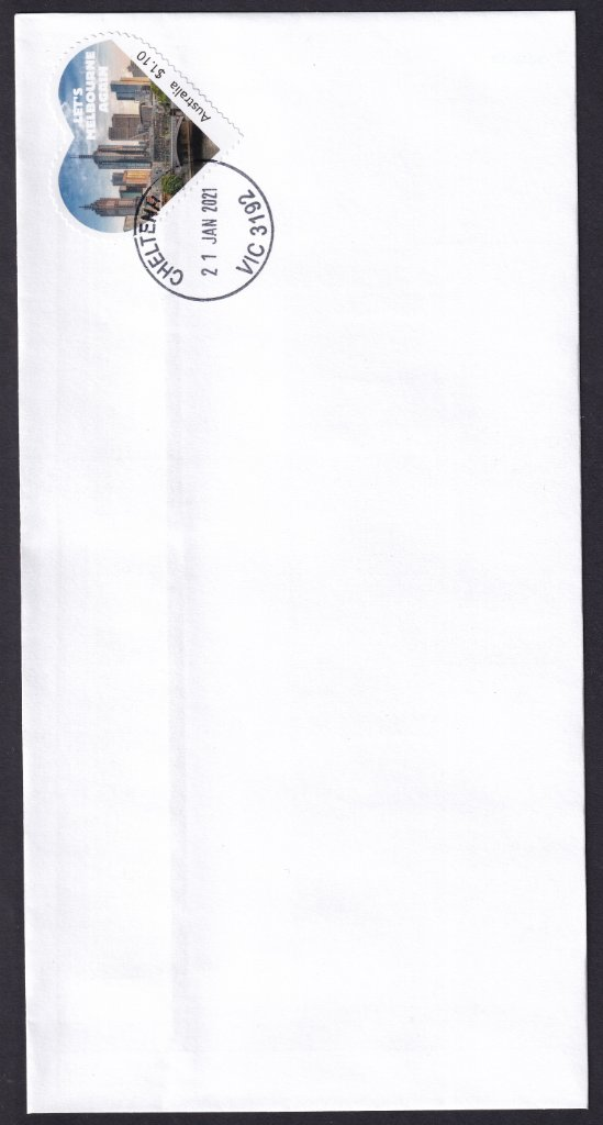 DLX 1 - Vertical scan of DLX envelope that is too wide to scan in horizontal position.