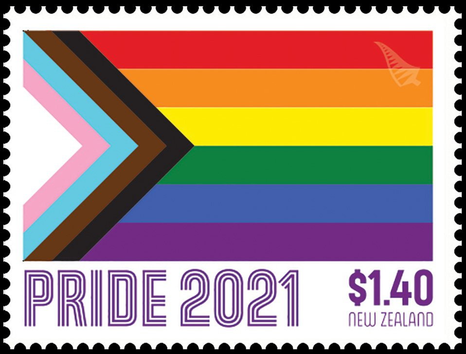 LGBTQIA+ Community Honored with Stamp by New Zealand Post, 3 Feb 2021