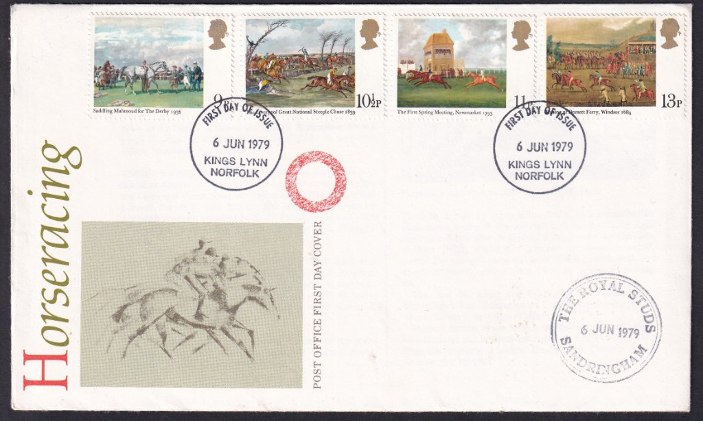 GB FDC 1979 - Horse Racing - Kings Lynn 1.jpg