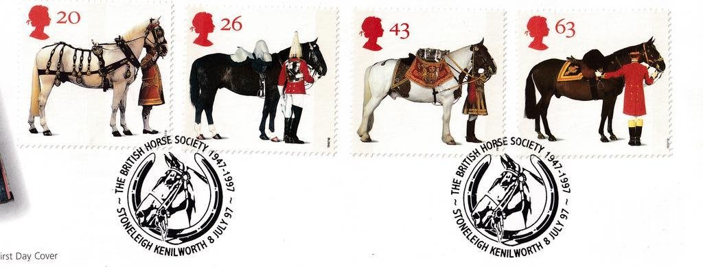 GB FDC 1997 - All The Queens Horses - Leamington Spa 3B.jpg